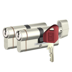 dormakaba Gege pExtra Plus her ölçüde İkili Pas Sistem Barel Kapı Göbeği (Evine göre tasarla) - Thumbnail