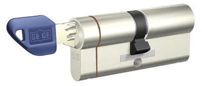 dormakaba Gege pExtra 75-76 mm (30 - 45) Anahtarı Kopyalanamayan PLUS ( Çelik Takviyeli+Tuzaklı ) Barel Kapı Kilit Göbeği