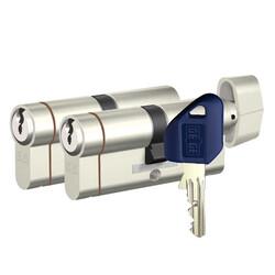 dormakaba Gege pExtra 75-76 mm (30 - 45) İkili Pas Sistem Anahtarı Kopyalanamayan PLUS ( Çelik Takviyeli+Tuzaklı ) Barel Kapı Göbeği - Thumbnail