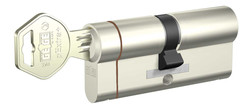 dormakaba Gege pExtra 83-85 mm (40 - 45) Anahtarı Kopyalanamayan PLUS ( Çelik Takviyeli+Tuzaklı ) Barel Kapı Kilit Göbeği - Thumbnail