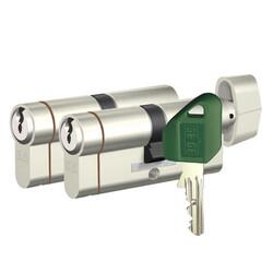 dormakaba Gege pExtra 83-85 mm (40 - 45) İkili Pas Sistem Anahtarı Kopyalanamayan PLUS ( Çelik Takviyeli+Tuzaklı ) Barel Kapı Göbeği - Thumbnail