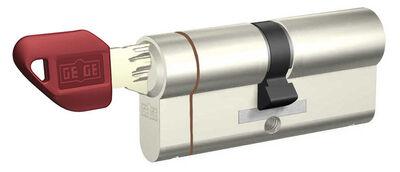 dormakaba Gege pExtra 90 mm (35 - 55) Anahtarı Kopyalanamayan PLUS ( Çelik Takviyeli+Tuzaklı ) Barel Kapı Kilit Göbeği