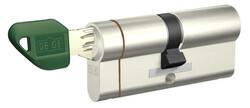 dormakaba Gege pExtra 90 mm (35 - 55) Anahtarı Kopyalanamayan PLUS ( Çelik Takviyeli+Tuzaklı ) Barel Kapı Kilit Göbeği - Thumbnail