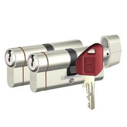 dormakaba Gege pExtra 90 mm (35 - 55) İkili Pas Sistem Anahtarı Kopyalanamayan PLUS ( Çelik Takviyeli+Tuzaklı ) Barel Kapı Göbeği - Thumbnail