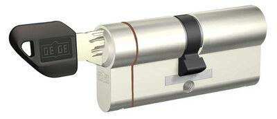 dormakaba Gege pExtra 90 mm (40 - 50) Anahtarı Kopyalanamayan PLUS ( Çelik Takviyeli+Tuzaklı ) Barel Kapı Kilit Göbeği