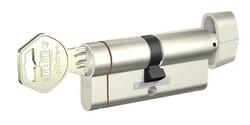 dormakaba Gege pExtra 90 mm (45 - 45) Anahtarı Kopyalanamayan PLUS ( Çelik Takviyeli+Tuzaklı ) Mandallı Barel Kapı Göbeği - Thumbnail