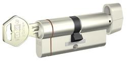 Gege pExtra Plus - dormakaba Gege pExtra 90 mm (45 - 45) Anahtarı Kopyalanamayan PLUS ( Çelik Takviyeli+Tuzaklı ) Mandallı Barel Kapı Göbeği