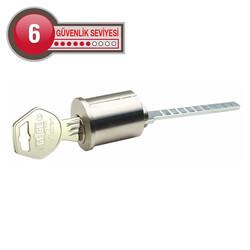 dormakaba Gege pExtra Anahtarı Kopyalanamayan tirajlı Dış kapı kilit göbeği - Thumbnail