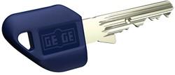 Gege pExtra Plus - dormakaba gege pextra işlenmiş Plastik başlıklı anahtar