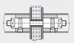 dormakaba - dormakaba GZ 215 cam kapılar için çift taraflı bağlantı elemanı