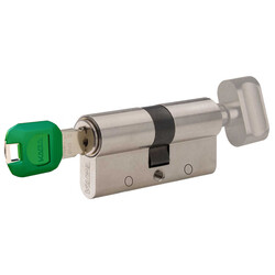 dormakaba Kaba experT+ 83 - 85 mm (40-45) Anahtarı Kopyalanamayan Çelik Takviyeli Mandallı Barel Kapı Göbeği - Thumbnail
