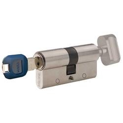 90 mm (45-45) - dormakaba Kaba experT+ 90 mm (45-45) Anahtarı Kopyalanamayan Çelik Takviyeli Mandallı Barel Kapı Göbeği