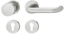 dormakaba - dormakaba Pure 8100 / 6501 / 3020 / 6612 yuvarlak rozetli kapı kolu tek tarafı sabit topuzlu