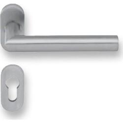 dormakaba - dormakaba Pure 8906 / 6621 / 6679 oval rozetli kapı kolu tekli