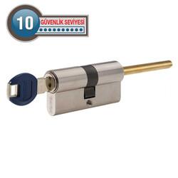 Dortek Kapılar için dormakaba Kaba experT+ 45 - 30 mm Çelik Takviyeli Çubuklu Barel Kapı Göbeği - Thumbnail
